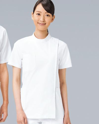 REP105 医務衣半袖レディス KAZEN・カゼン