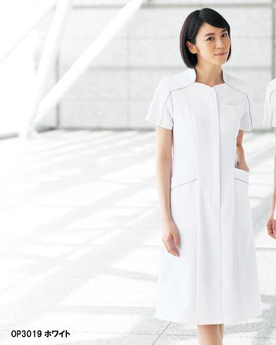 OP-3019 オンワード商事(ONWARD) ワンピース ホワイト