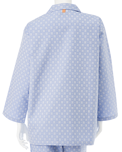 RG-1456 ナガイレーベン(nagaileben) 患者衣 上衣 (パジャマ型)