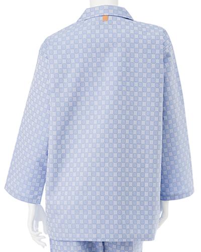 RG-1456 ナガイレーベン(nagaileben) 患者衣 上衣 (パジャマ型)(上下別売り)