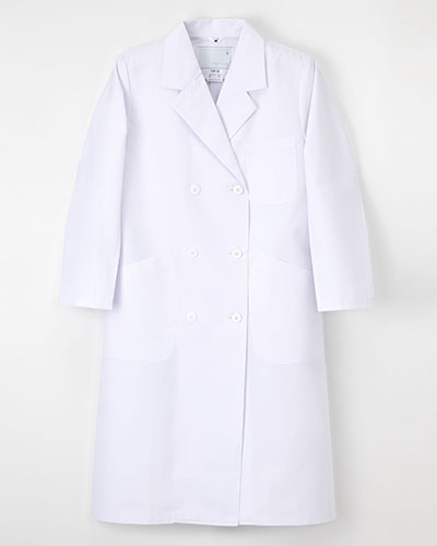 TAP-70 ナガイレーベン(nagaileben)ドクタートップ レディス診察衣ダブル型