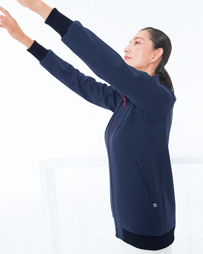 TJ-2000 ナガイレーベン(nagaileben) 男女兼用ジップアップブルゾン
