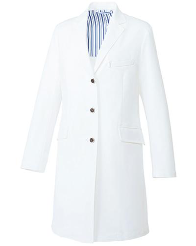 UN-0079 ユナイト レディスドクターコート(長袖)