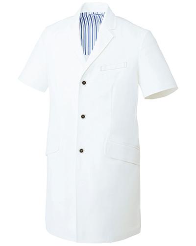 UN-0083 ユナイト メンズドクターコート(半袖)