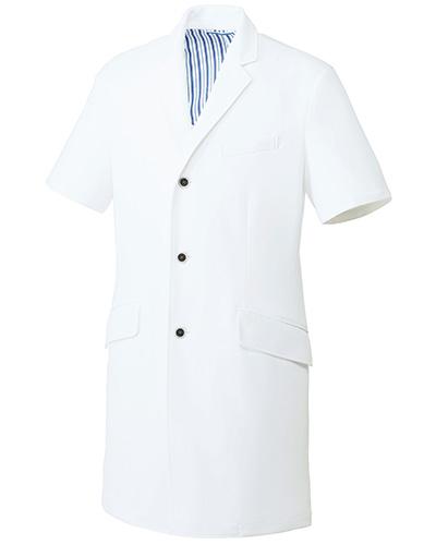 UN-0087 ユナイト メンズドクターコート(半袖)