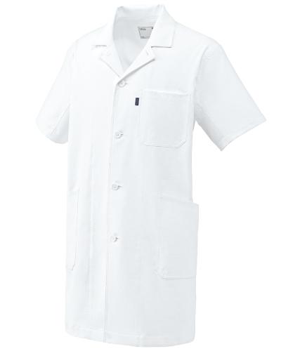 UN-0101 男女兼用ドクターコート(半袖) UNITE(ユナイト)