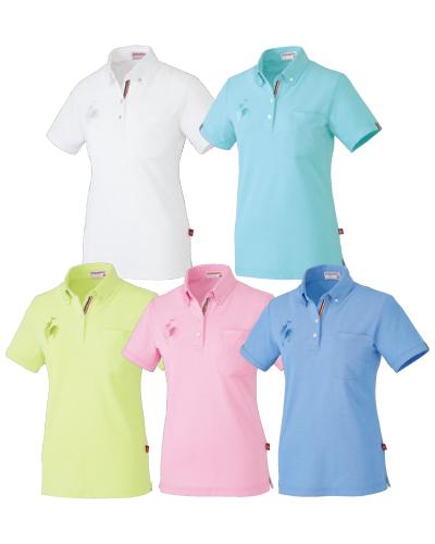 UZL3020 ルコックスポルティフ レディスボタンダウンシャツ