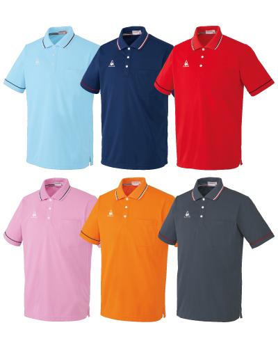UZL3021 ルコックスポルティフ男女兼用半袖ポロシャツ