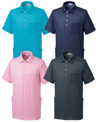 UZL3061 ルコックスポルティフ 男女兼用 ニットシャツ