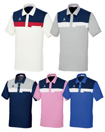UZL3071 ルコックスポルティフ 男女兼用 ニットシャツ