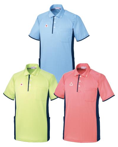 UZL3082 ルコックスポルティフ 男女兼用 ニットシャツ