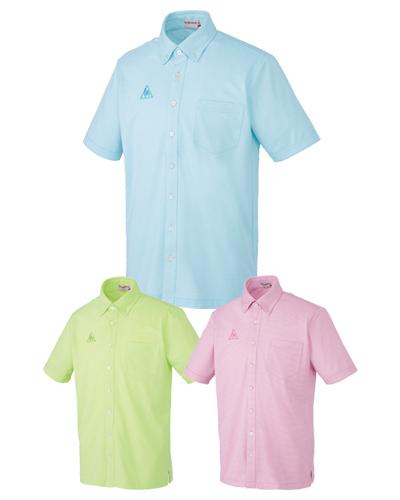 【半額セール対象】UZL8025 男女兼用 ボタンダウンシャツ ルコックスポルティフ