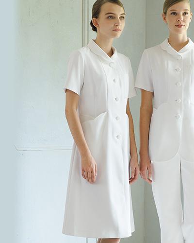 YW112 渡辺雪三郎 ワンピース半袖 KAZEN・カゼン