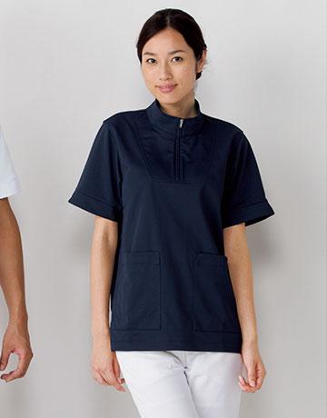 761 メディカルニットシャツ男女兼用 KAZEN・カゼン