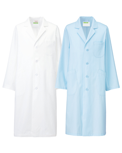 250 診察衣シングル型長袖メンズ シーティーワイ KAZEN・カゼン