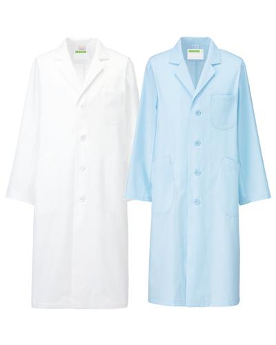 250-90・91 診察衣シングル型長袖メンズ シーティーワイ KAZEN・カゼン
