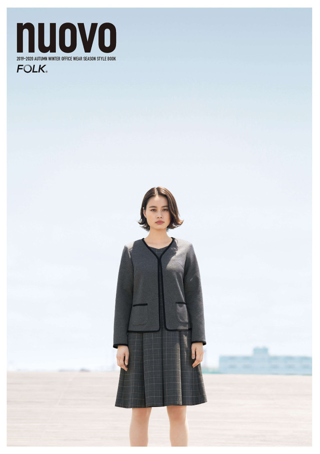NUOVO (ヌーボ) 受付・接客・事務服カタログ