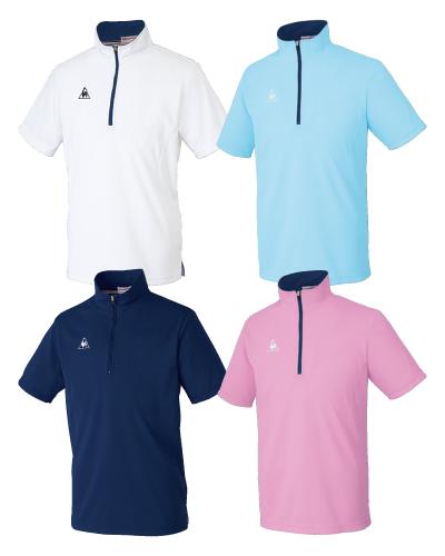 UZL3015 ルコックスポルティフ男女兼用ジップシャツ