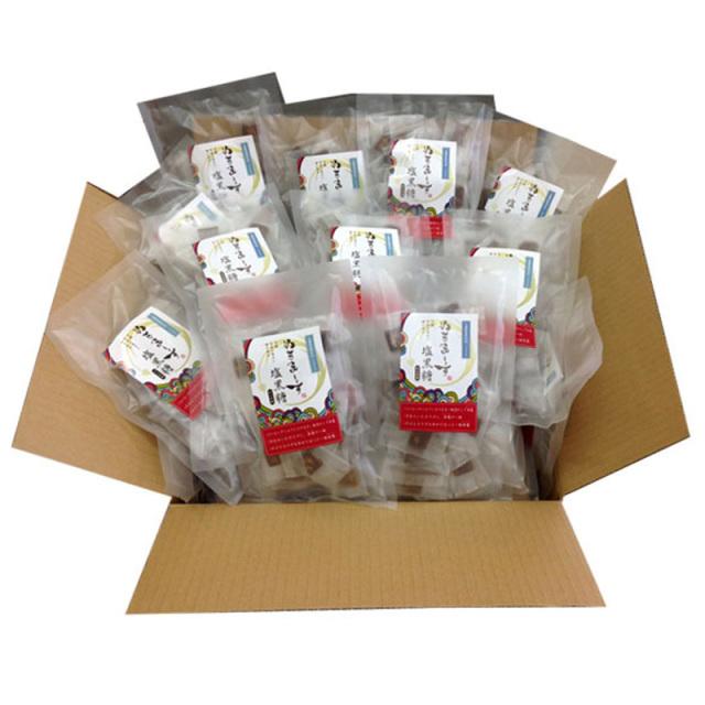 ぬちまーす塩黒糖(100g×30袋)ケース