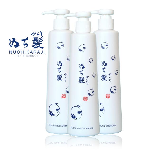 シルクソルトとハイビスカスエキスを配合した自然派シャンプー「ぬち髪(ぬちからじ)」は植物由来のヒアルロン酸、ノンシリコンです。