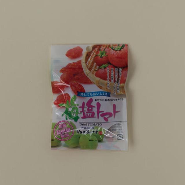 ドライ梅塩トマトミニ(30g)【メール便可/6袋迄】