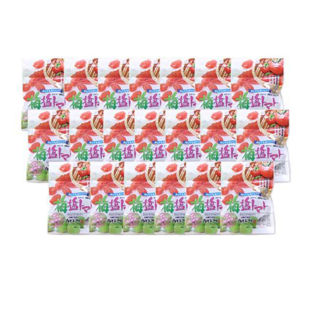 ドライ梅塩トマト(120g)×20袋セット