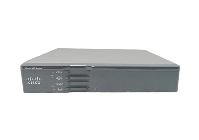 【中古】Cisco867VAE-K9 ファンレスルーター