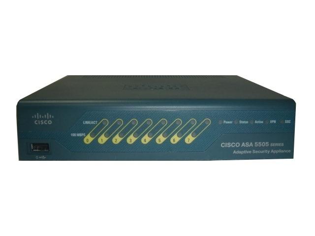 【中古】Cisco ASA 5505 (ASA5505-SEC-BUN-K9)
