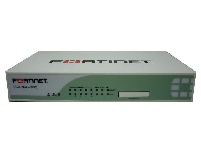 【中古】セキュリティ機能を実現するUTM(統合脅威管理) FortiGate-60C