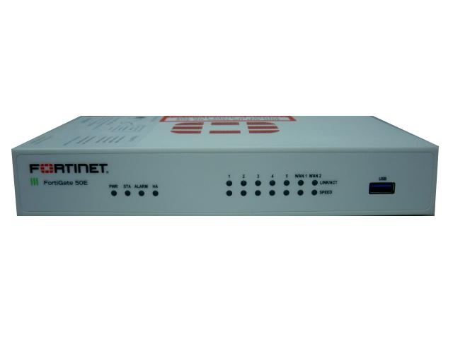【中古】セキュリティ機能を実現するUTM(統合脅威管理) FortiGate-50E