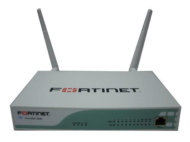 【中古】セキュリティ機能を実現するUTM(統合脅威管理) FortiWiFi-60D