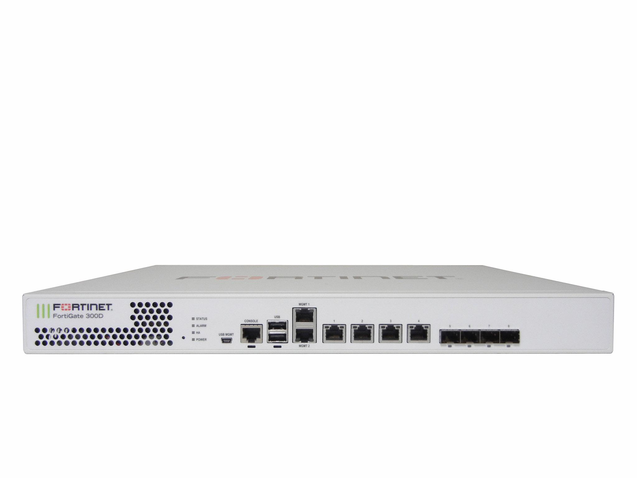 【中古】セキュリティ機能を実現するUTM(統合脅威管理)FortiGate-300D