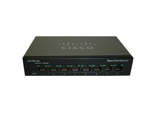 【中古】Cisco SG100D-08
