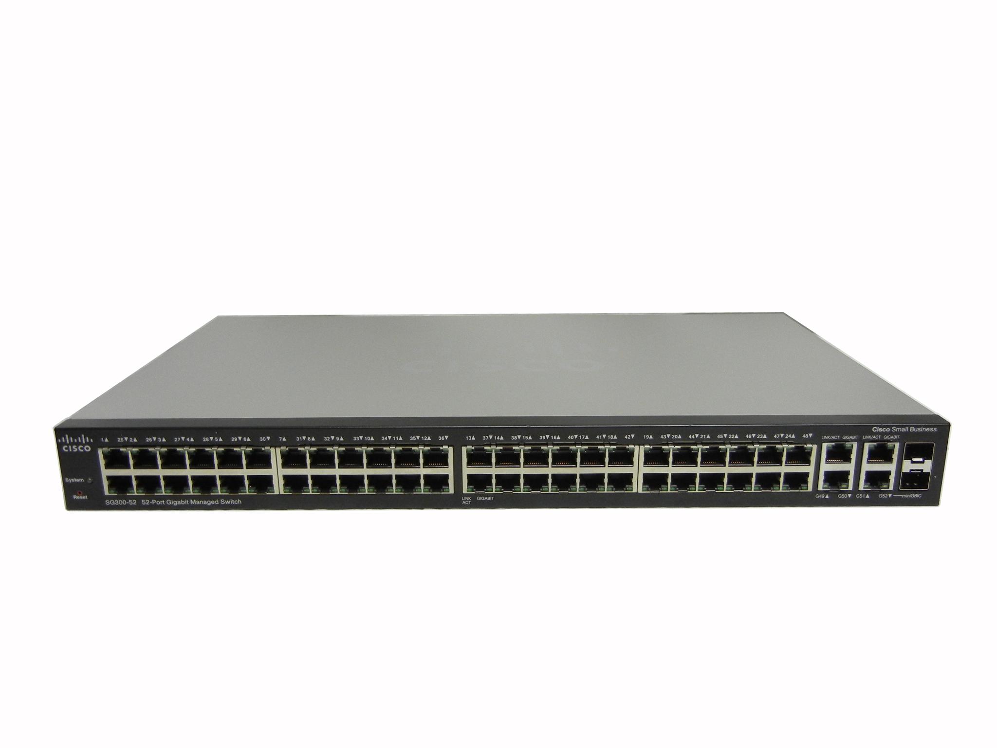 【中古】Cisco SG300-52-JP
