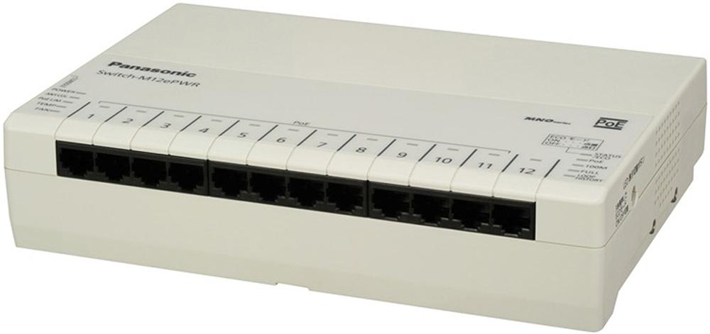 【中古品】Panasonic Switch-M12ePWR (PN271299)