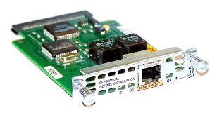 【中古】Cisco 1ポート ISDN BRI S/T WANカード(WIC-1B-S/T)