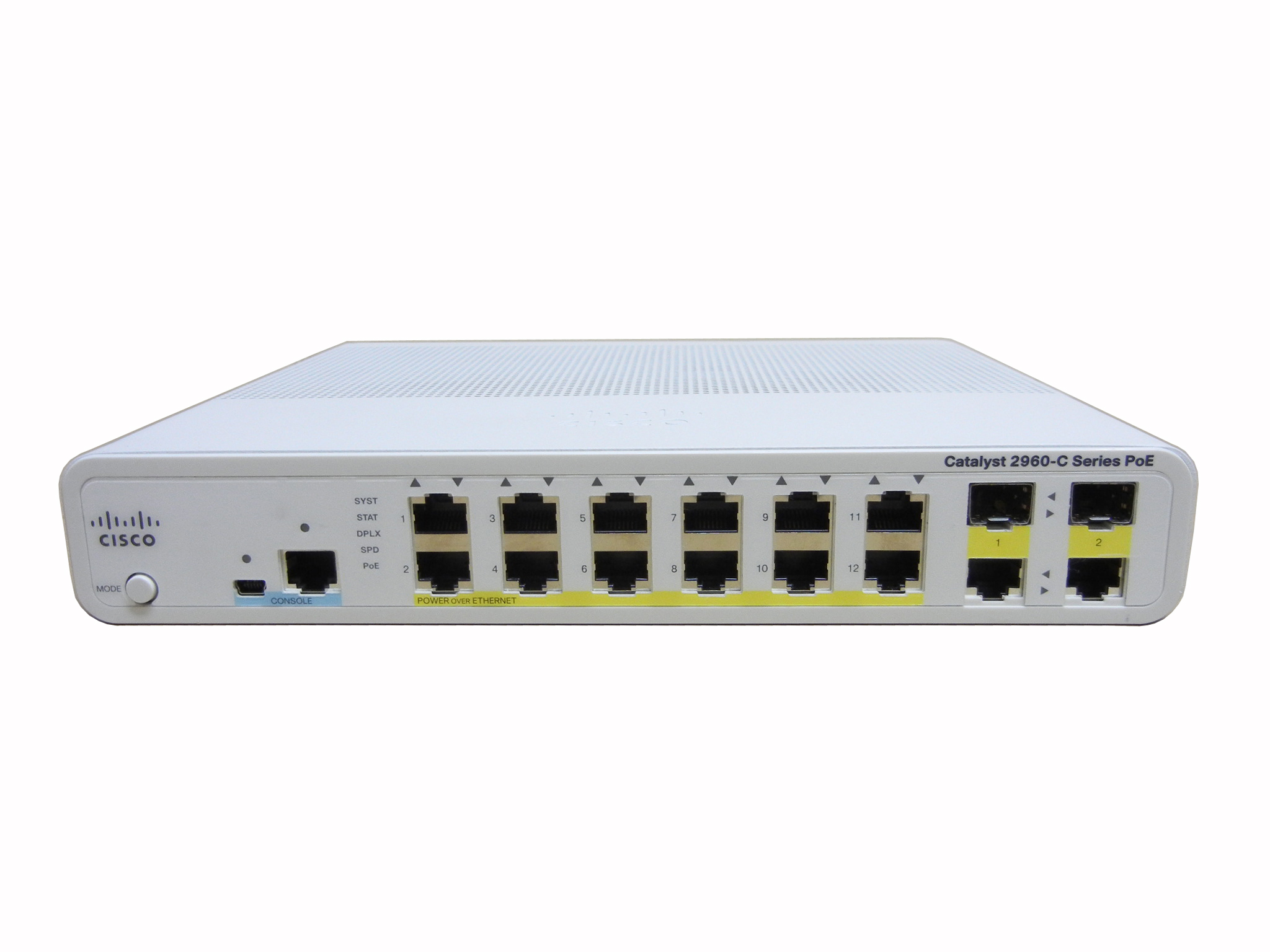 【中古】Cisco Catalyst 2960C-12PC-L (WS-C2960C-12PC-L)