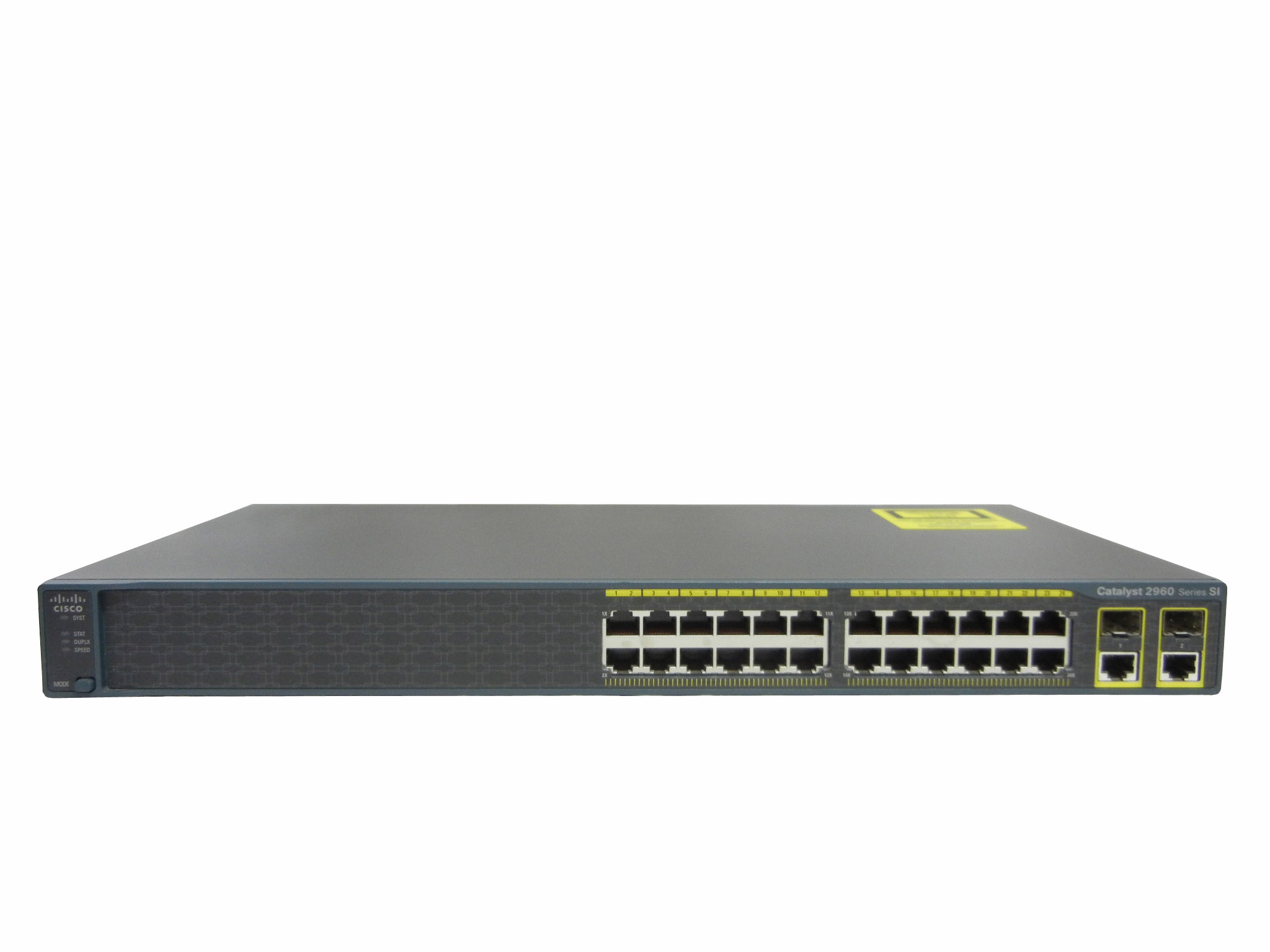 【中古】Cisco Catalyst 2960-24TC-S (WS-C2960-24TC-S)