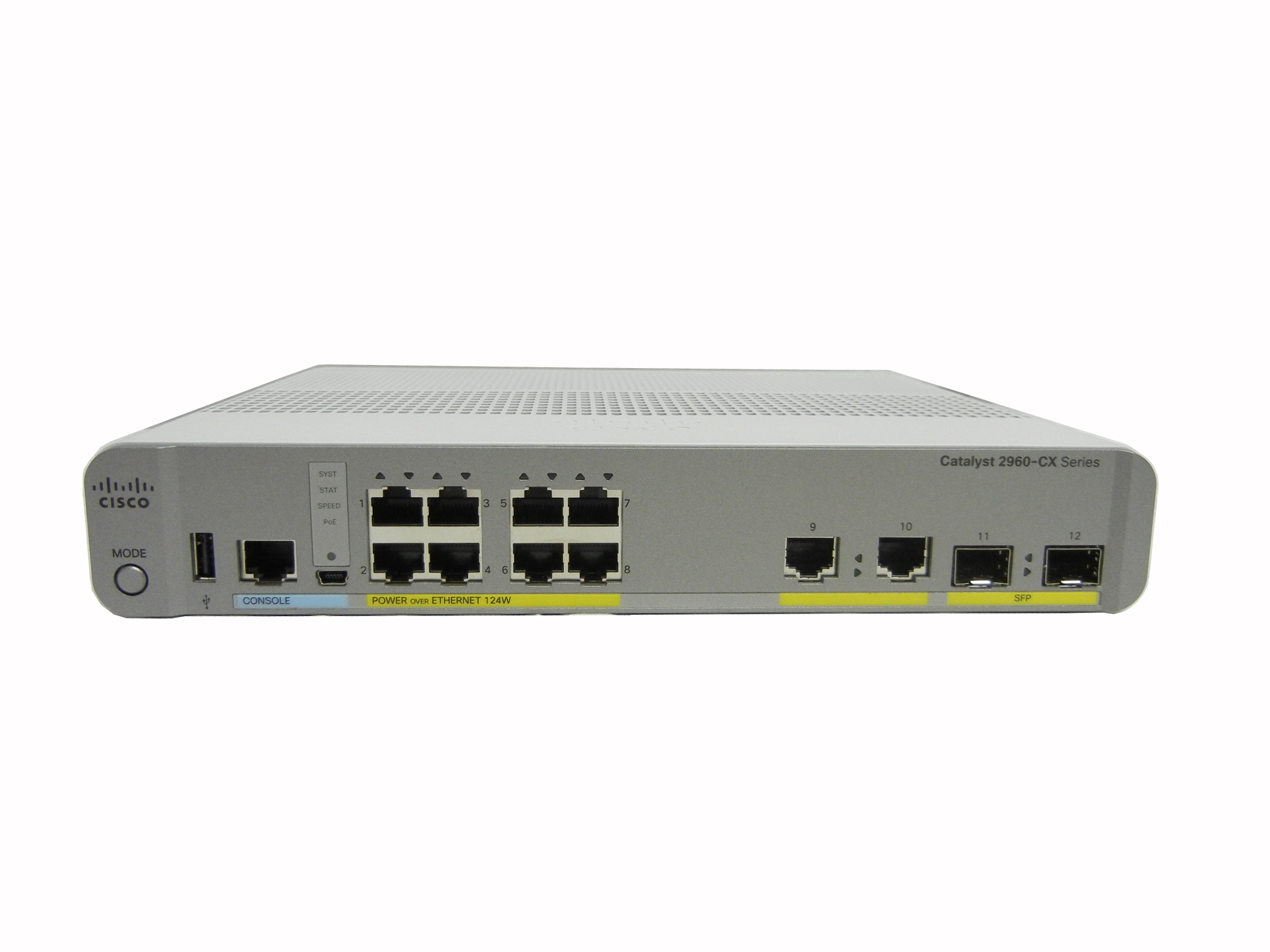 【中古】Cisco Catalyst 2960CX-8PC-L (WS-C2960CX-8PC-L)