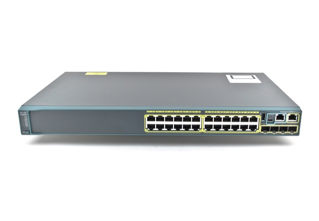【中古】Cisco Catalyst 2960S-24TS-L (WS-C2960S-24TS-L)