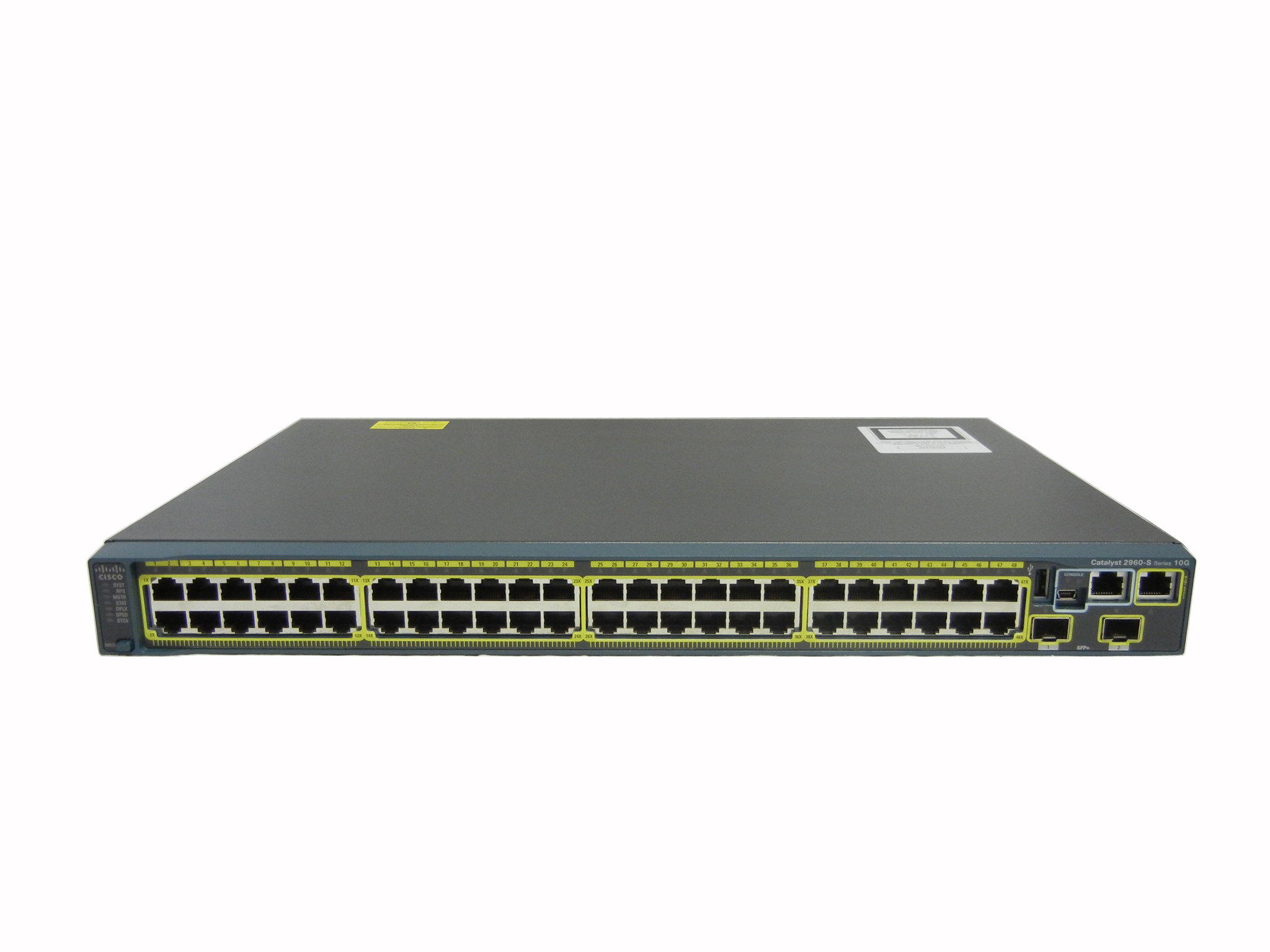 【中古】Cisco Catalyst 2960S-48TD-L (WS-C2960S-48TD-L)