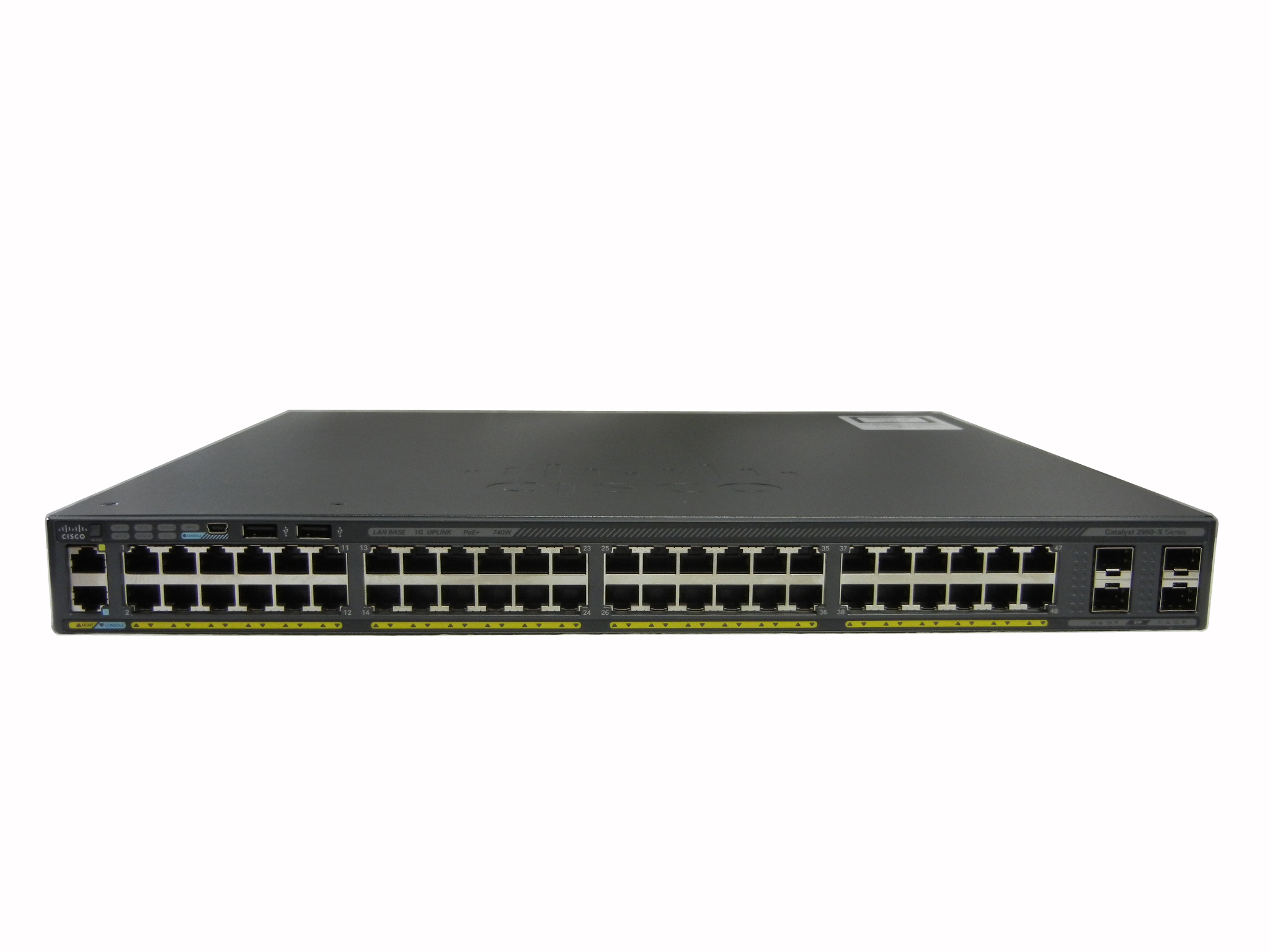 【中古】Cisco Catalyst 2960X-48FPS-L (WS-C2960X-48FPS-L)