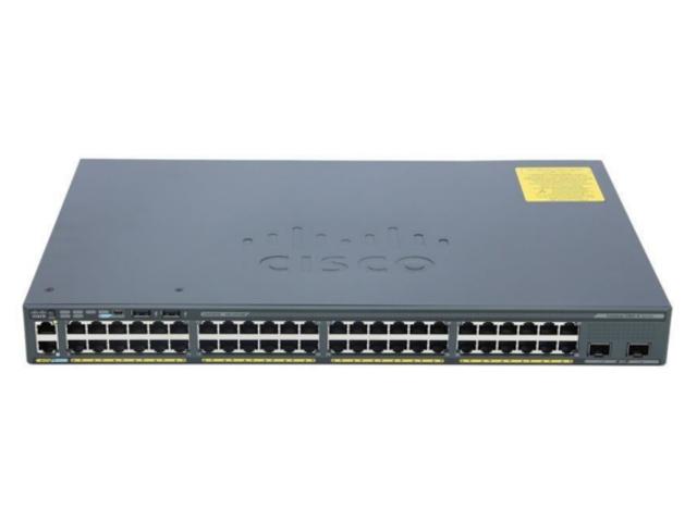 【中古】Cisco Catalyst 2960X-48TD-L (WS-C2960X-48TD-L)