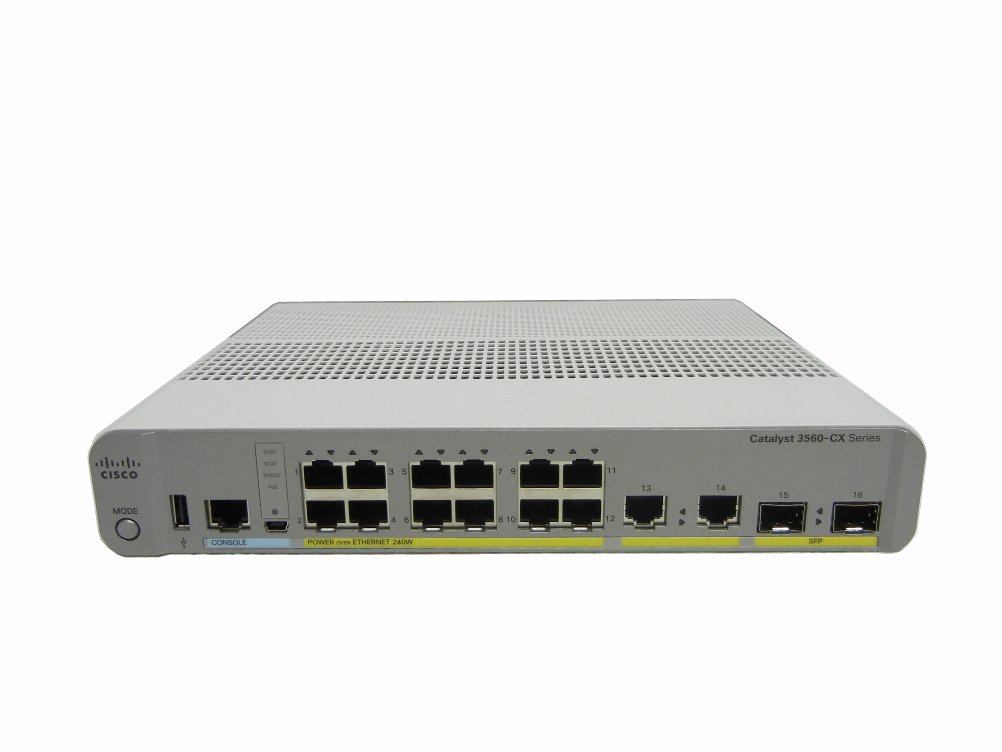 【中古】Cisco Catalyst 3560CX-12PC-S (WS-C3560CX-12PC-S)