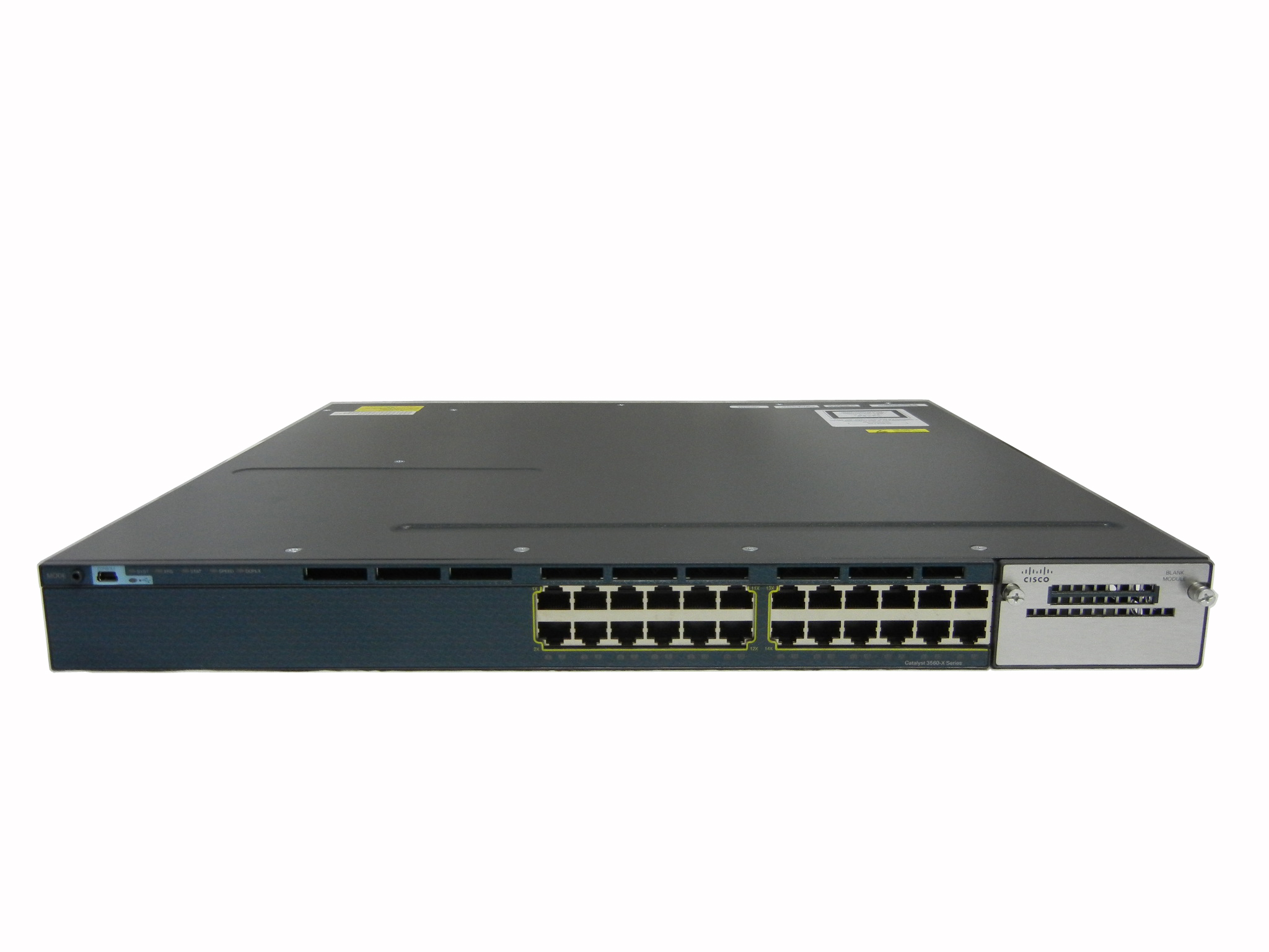【中古】Cisco Catalyst 3560X-24T-E (WS-C3560X-24T-E)