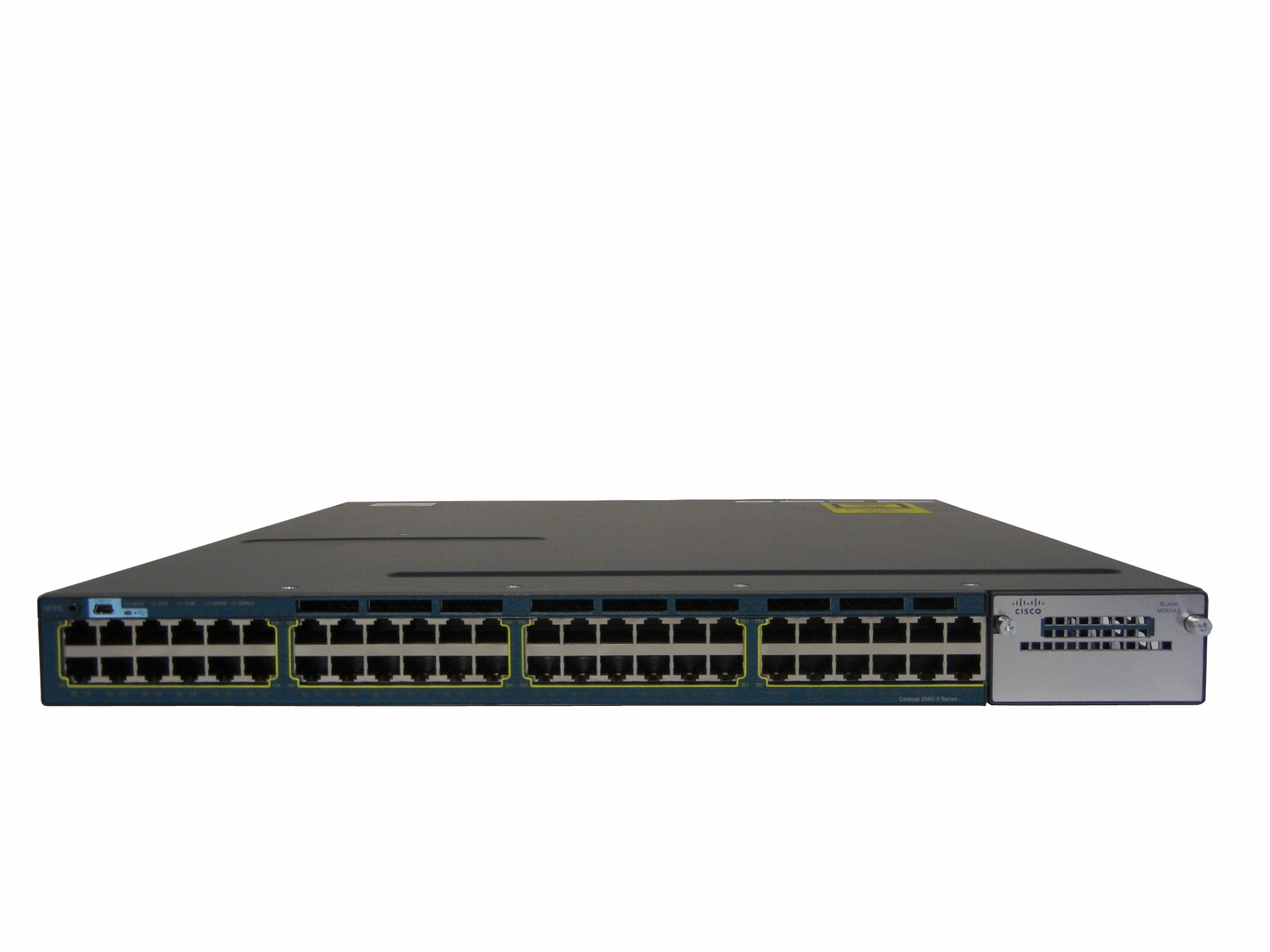 【中古】Cisco Catalyst 3560X-48T-S (WS-C3560X-48T-S)