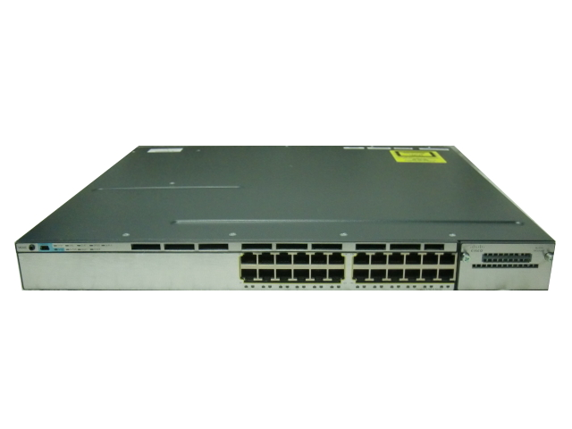 【中古】Cisco Catalyst 3750X-24T-E (WS-C3750X-24T-E)