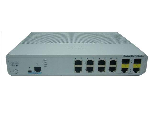 【中古】Cisco Catalyst 2960C-8TC-L (WS-C2960C-8TC-L)