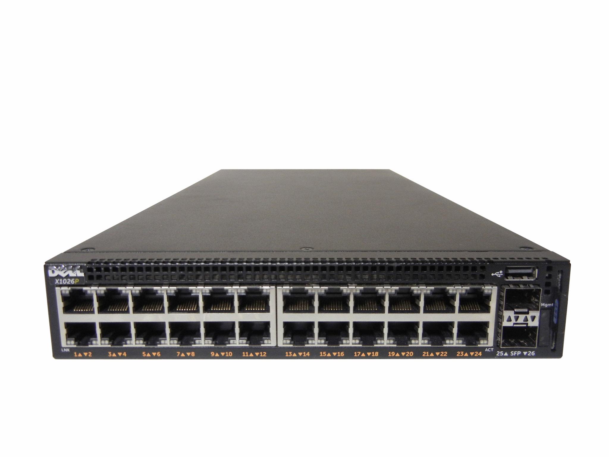 【中古】Dell Networking X1026P Xシリーズ・スマート・マネージド・スイッチ