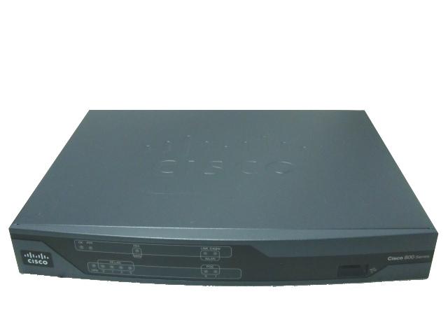 【中古】Cisco881J/K9 (D256M/F128M) サービス統合型ルーター